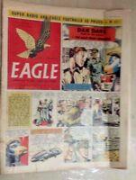 1955 Classic Eagle Comic Vol 6 No 34 Dan Dare The Man From Nowhere - 26th Aug.