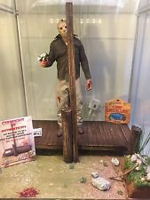 "Custom 1/6 Scale Friday The 13th Part 3 ""Dock Kill"" Detolf Scaled Diorama"