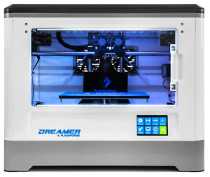 Used Flashforge 3D Printer Dreamer Patent Dual-extruder WIFI enclosed PLA/ABS