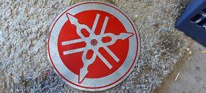 """15"""" Yamaha Motorcycles Metal Sign"""