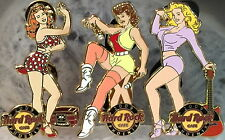 Hard Rock Cafe PHOENIX 2009 Sexy PIN-UP Girl Series 3 PINS LE 300 - HRC #51561-3