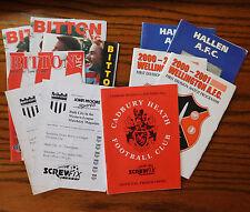 11 vintage football programmes job lot 2000-2003