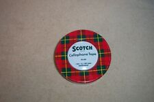 VINTAGE SCOTCH BRAND CELLOPHANE TAPE No 600 1 ROLL TRANSPARENT TAPE TIN EMPTY