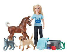 Breyer classic Pet Groomer 62029 doll figure with outfit & accessories <><