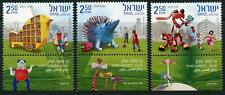 Israel: 2010 Story Gardens (1822-1824) With Tabs MNH
