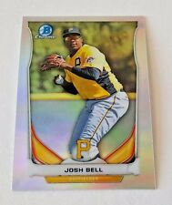 2014 BOWMAN DRAFT CHROME JOSH BELL PROSPECT REFRACTOR CTP-16 PIRATES