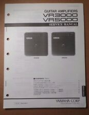 Original Yamaha VR3000 VR5000 Guitar Amplifiers SERVICE Manual