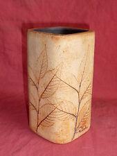 Vintage Vase neuf 15cm signé Raymonde R. Leduc Céramique de Vallauris
