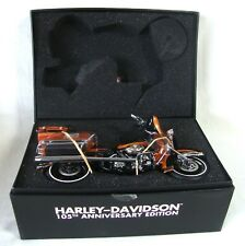 Harley-Davidson RARE 105th Anniversary 1/12 Scale Model Ultra Classic WOW NIB
