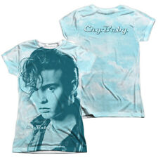 "Cry Baby ""Crying Cloud"" Dye Sublimation Girl's Junior Babydoll Tee"