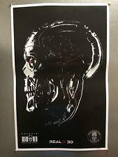 "TERMINATOR GENISYS 2015 11"" x 17"" Mini Movie Promo Poster ARNOLD SCHWARZENEGGER"