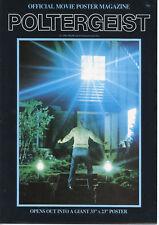 Poltergeist Official Movie Poster Magazine Walkerprint (1982) MGM Tobe Hooper