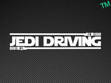 Jedi Guida Divertente Star Wars Auto Adesivo Vinile Decalcomania Van Camion 4x4 Sci Fi