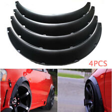 "4X Universal Widened Fender Flares Wheel Arch 3.5""/90mm Fitting fr Car Truck SUV"