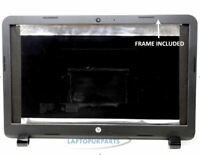 New Replacement For HP-Compaq 15-R271NW Notebook Black Lid Back Cover With Bezel
