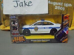 NIB HONOLULU POLICE DEPARTMENT 2010 CHEVY IMPALA CAR 1/32 JADA HERO PATROL