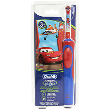 Oral-B Fasi Alimentazione Disney Cars Kids Bambino RICARICABILE spazzolini elettrici