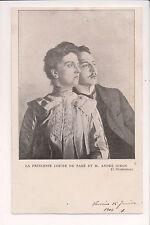 Vintage Postcard Archduchess Louise of Austria,Crown Princess of Saxony & Lover