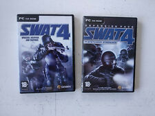 SWAT 4 + extension addon The Stetchkov Syndicate (1ere edition) PC FR