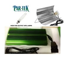 PAR-TEK LIGHTING 600w Digital Ballast COMBO 600w HPS & Wing Reflector SAVE $$