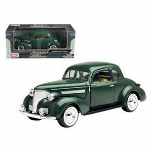 1/24 Scale 1939 Chevrolet Coupe Green American Classics Motormax #73200AC