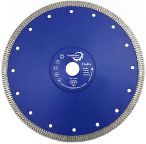 Classicpro Tile Turbo Thin Diamond Dry Cutting blade/Disc Grinder wheel 230mm