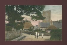 Devon ISLINGTON Village & locals c1900/10s? PPC