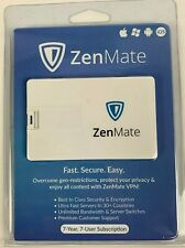 ZenMate VPN 7 YEAR Subscription 7 USERS APPLE ANDROID WINDOWS FREE SHIPPING