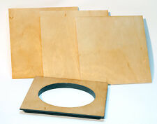 "1 Lens Board  6""x 6"" for AGFA ANSCO 8"" x 10""- undrilled, free hole."