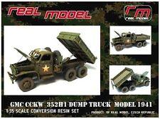 1/35th Real Model US GMC CCKW 352H1 Dump truck conv