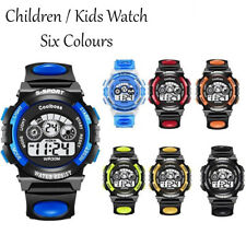 Children Kids Waterproof Sports Led Digital Watches Date Alarm Wrist Watch Gift