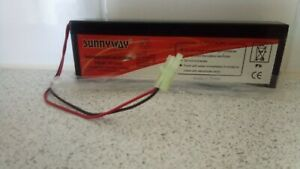 Rechargeable Sealed Lead-Acid Battery Sw640 (6v 4AH) New