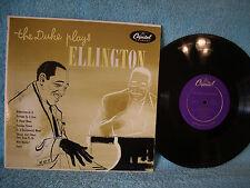 "The Duke Plays Ellington, Capitol Records H 477, 1954, Jazz, 10"" 33 RPM"