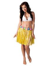 Hawaii Minirock gelb für Damen