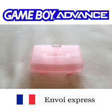 Cache pile clear rose / Pink Game Boy Advance neuf [ Battery cover Gameboy GBA ]