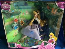 Disney AURORA Classic Movie Moments Porcelain Doll Brass Key Sleeping Beauty MIB