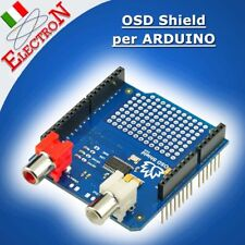 OSD Shield for Arduino - Grafica / testo su video PAL / NTSC - On Screen Display