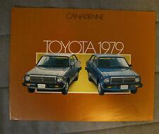 TOYOTA CANADIENNE 1979 dealer brochure - French - Canadian Market - 01-B