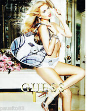 PUBLICITE ADVERTISING 125  2011  GUESS collections sacs *