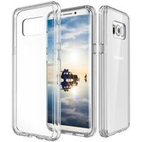 2 Pack Full Coverage TPU Screen+Clear Hard Case For Galaxy Note 9 8/S9/S8/Plus