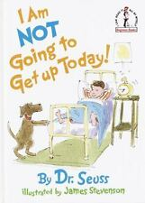 I Am Not Going to Get up Today! by Dr. Seuss (1987, Hardcover) VTG ~ BRAND NEW
