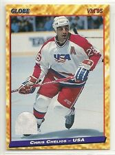 1995 Semic Wein Globe VM'95 Hockey - #107 - Chris Chelios - Team USA