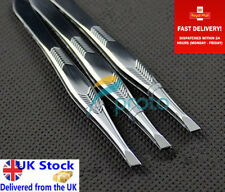 1 PROFESSIONAL EYEBROW TWEEZERS HAIR BEAUTY SLANTED STAINLESS STEEL TWEEZER TOOL