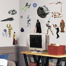 STAR Wars CLASSIC COLLECTION adesivi da parete Darth vada R2D2 HAN SOLO CHEWBACCA