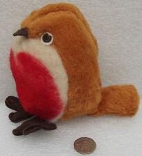 Vintage Xmas robins CHAD VALLEY HYGIENIC TOYS 1920s 1930s Bird soft toy pre-war