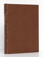 Le livre du pays noir Anthologie de Littérature africaine LEBEL 1928 / EX LIBRIS