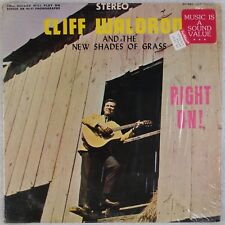 CLIFF WALDRON, NEW SHADES OF GRASS: Right On! USA Rebel Bluegrass LP NM-