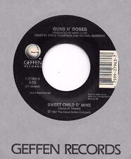 GUNS N' ROSES * 45 * Sweet Child O' Mine * 1987 * USA ORIGINAL VG++ Vinyl Press