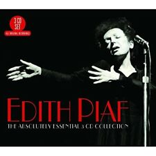 EDITH PIAF - THE ABSOLUTELY ESSENTIAL 3 CD COLLECTION 3 CD NEUF