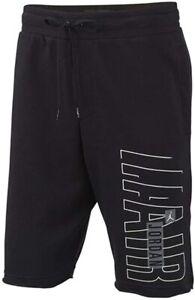 NIKE JORDAN Men's Jumpman Fleece Gym Shorts Black XL SWEATSHORTS NWT CZ1674 010